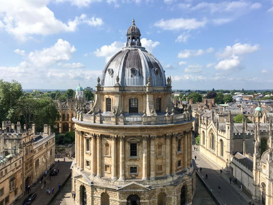 Radcliffe Camera at University of Oxford, England | Oxford vs Cambridge: The best English University town
