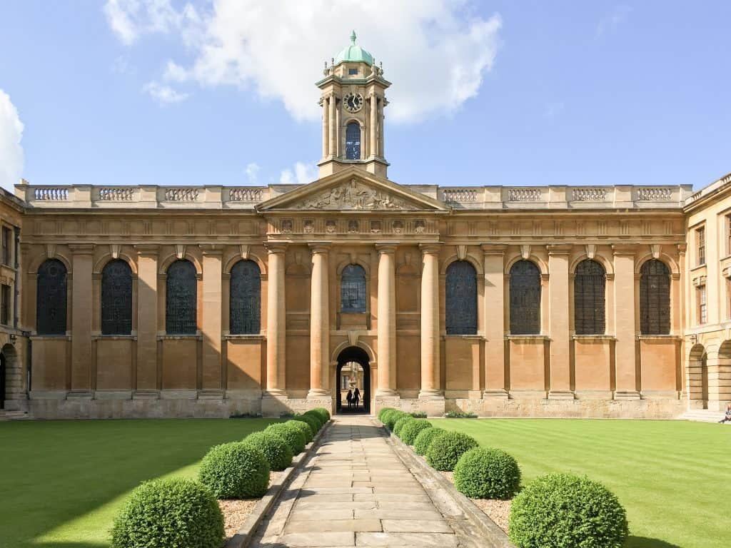Colleges at the University of Oxford, England