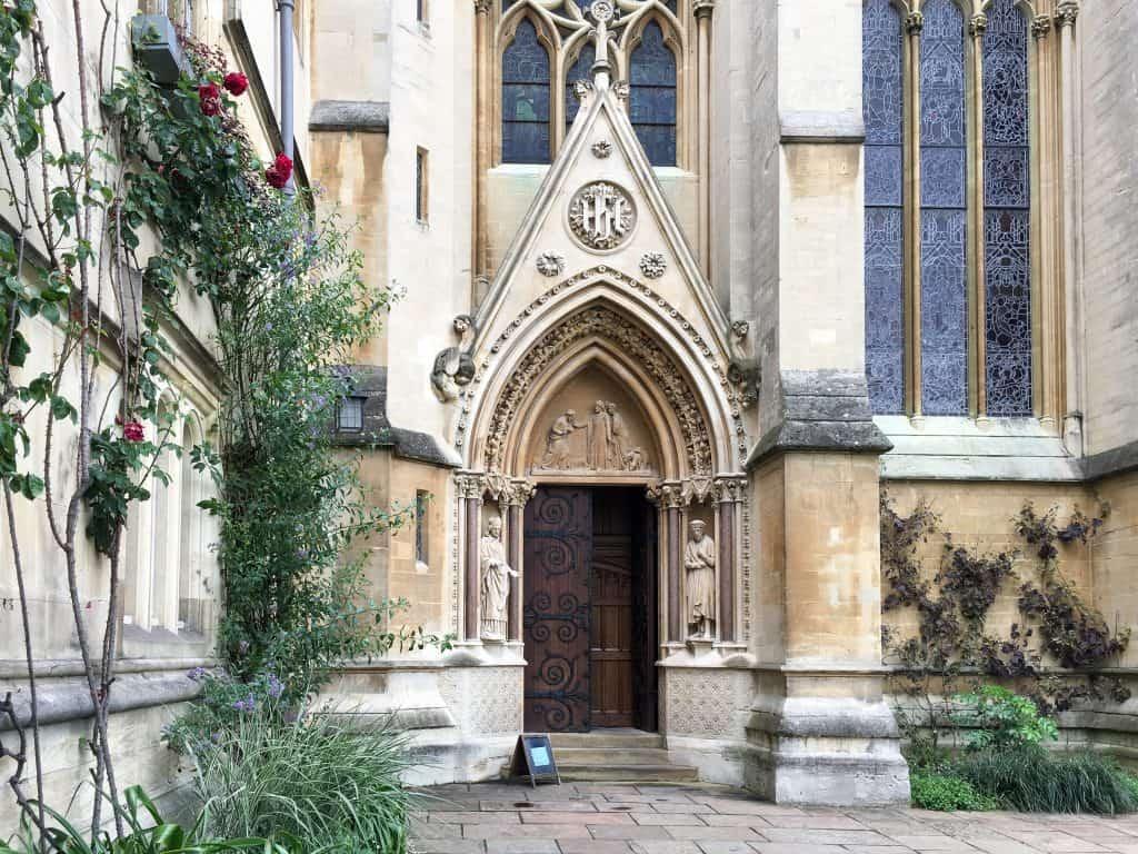 Chapel at University of Oxford, England