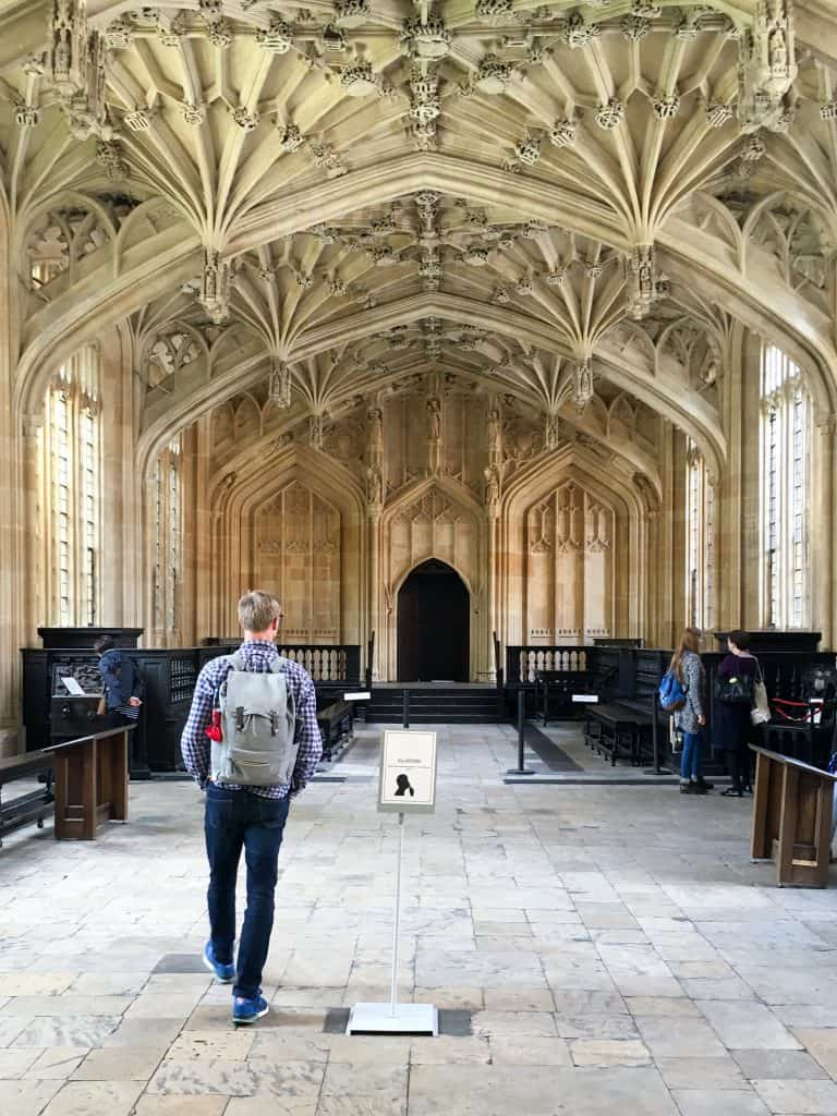 Bodleian Library at the University of Oxford, England