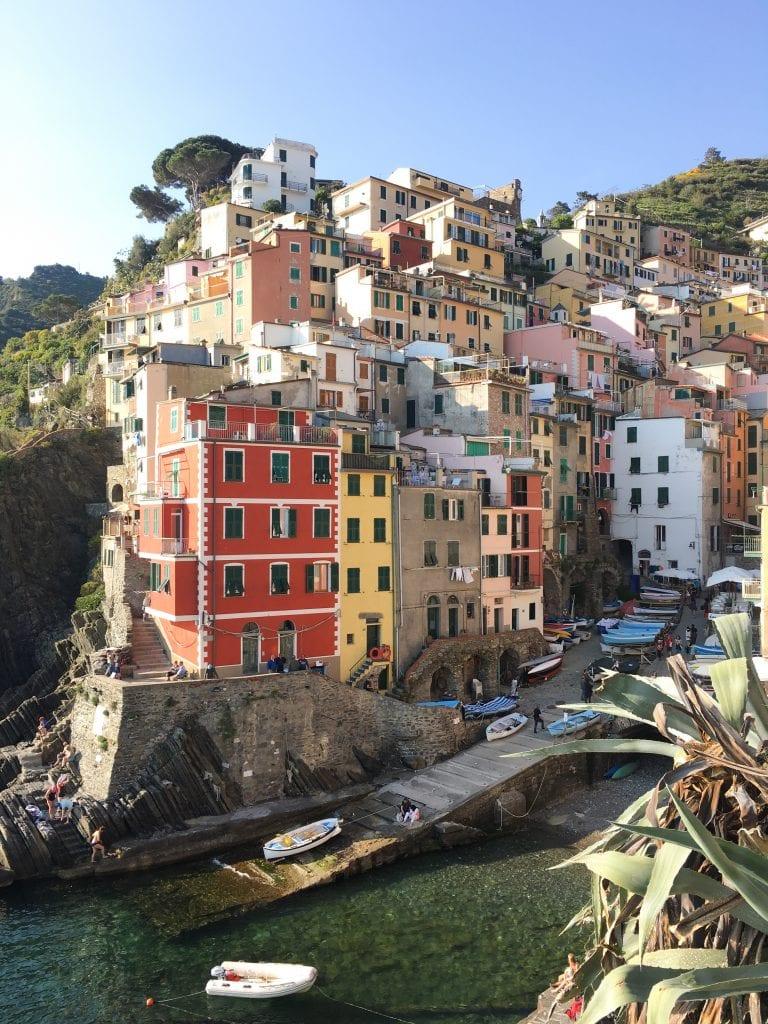 Cinque Terre Italy Riomaggiore