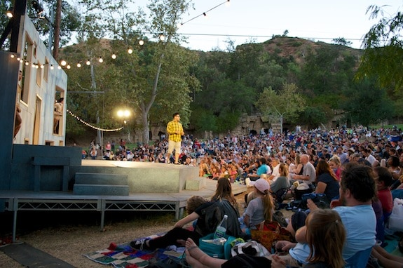 Free Summer Concerts in LA | Los Angeles Free Summer Concerts Independent Shakespeare Company Griffith Park Performance Play