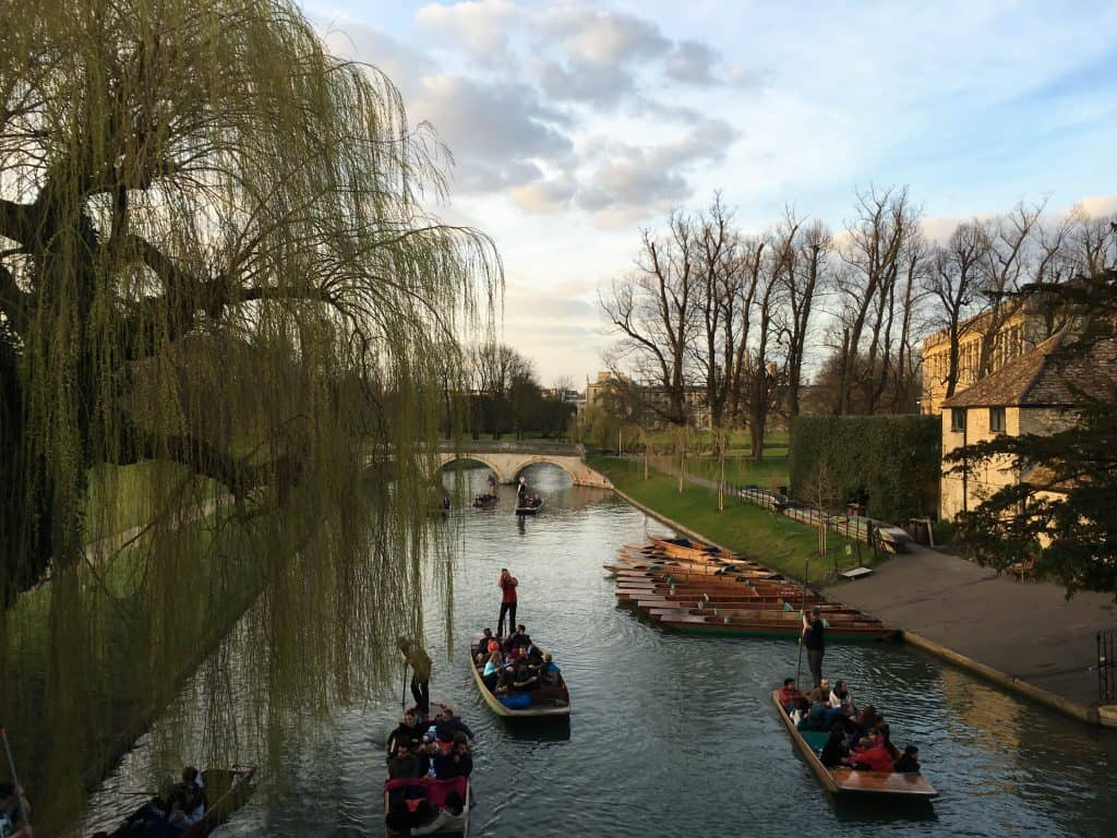 The River Cam in Cambridge, England | The 5 Best Cambridge Colleges to Explore