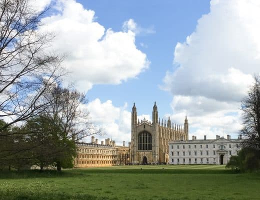 King's College at University of Cambridge, England