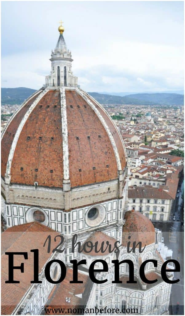 12 Hours in Florence, Italy