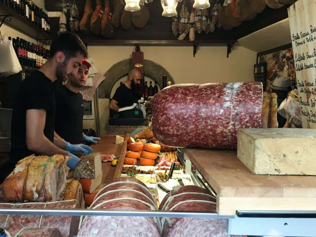 It might be worth it to make a trip back to Florence just for these sandwiches from All'Antico Vinaio. Definitely the best sandwiches in Florence, and maybe anywhere.
