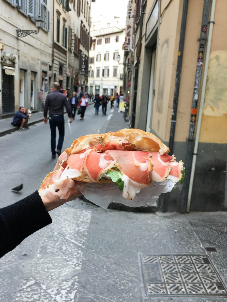 Things to do in Florence, Italy: A Quick Guide to Florence | It might be worth it to make a trip back to Florence just for these sandwiches from All'Antico Vinaio. Definitely the best sandwiches in Florence, and maybe anywhere.