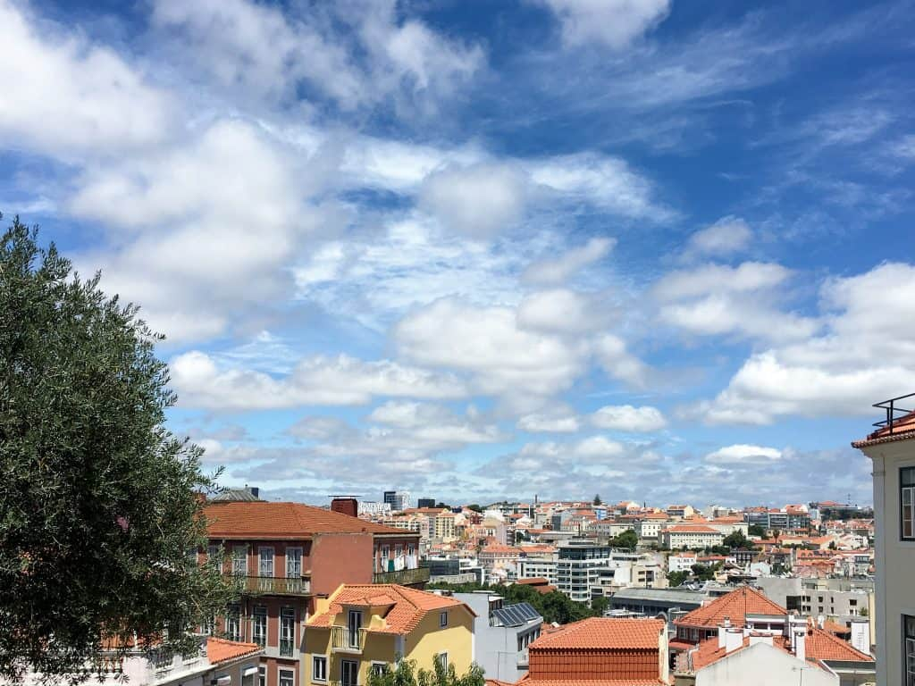 Beautiful views of Príncipe Real in Lisbon, Portugal | With incredible views, unique shops and a fun atmosphere, don't miss the neighborhood of Principe Real on your trip to Lisbon, Portugal
