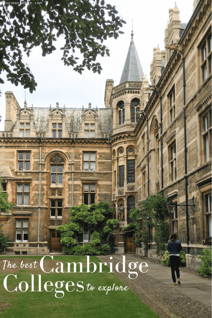 The 5 Best Cambridge Colleges You Must Visit | After visiting all 31 colleges of the University of Cambridge in England, we've picked the 5 best Cambridge colleges to visit. With beautiful gardens and buildings that looks like castles, it often feels like you're stepping back in time and into a fairytale when you pass through the college gates.