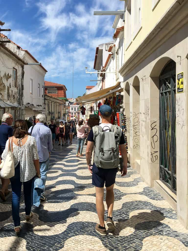 Streets in Cascais, Portugal | The perfect day trip from Lisbon