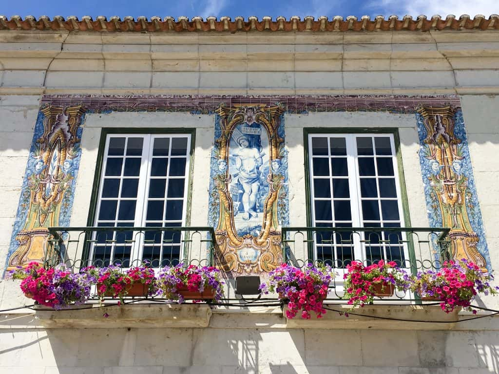 Azulejos in Cascais, Portugal | Day trip to Cascais from Lisbon