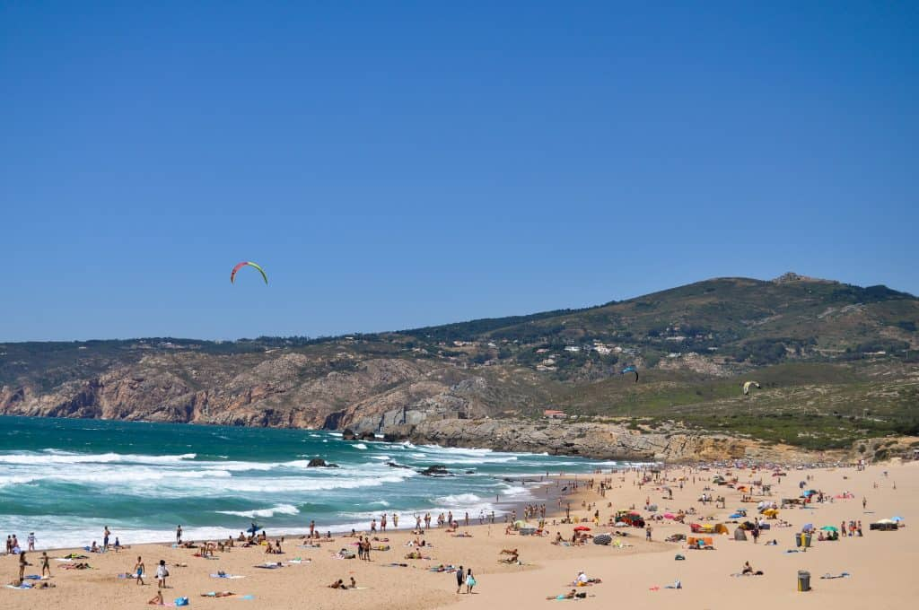 Praia do Guincho near Cascais, Portugal | The perfect beach trip from Lisbon