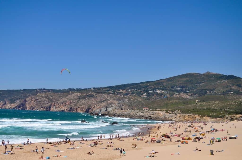Praia do Guincho near Cascais, Portugal | The perfect beach trip from Lisbon