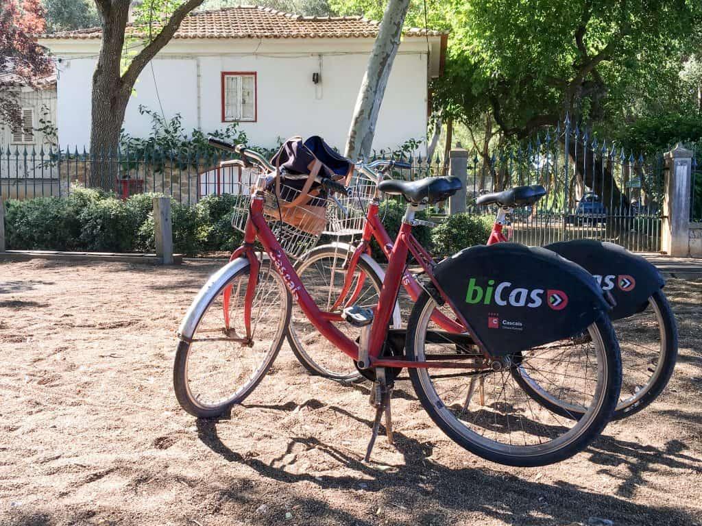 Bicas, Free bikes in Cascais, Portugal