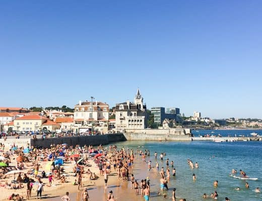 Praia da Ribeira  Beach in Cascais, Portugal | The perfect day trip from Lisbon