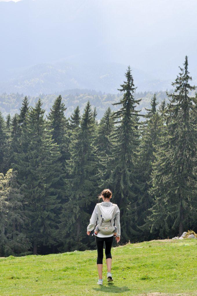 Hiking in Piatra Craiului Mountains, Romania