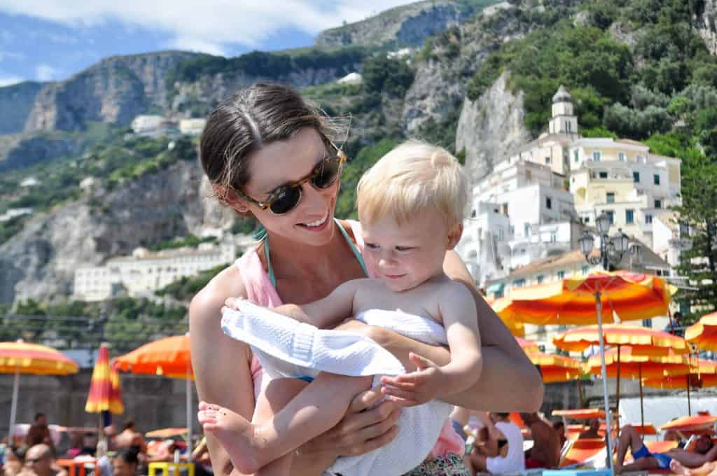 Positano, Italy | Traveling with a baby