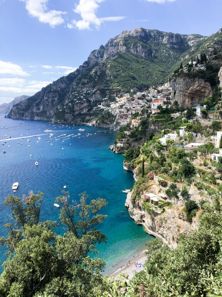 Positano, Italy | Beautiful views on the Path of the Gods