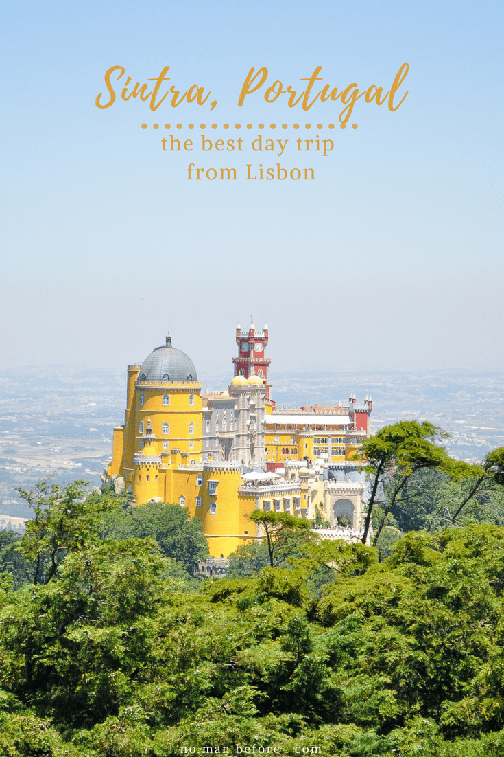 Sintra, Portugal | The Best Day Trip From Lisbon | Hop on the train and visit the palaces of Sintra, including the colorful Pena Palace and the mysterious Quinta da Regaleira #sintra #portugal #lisbon #penapalace