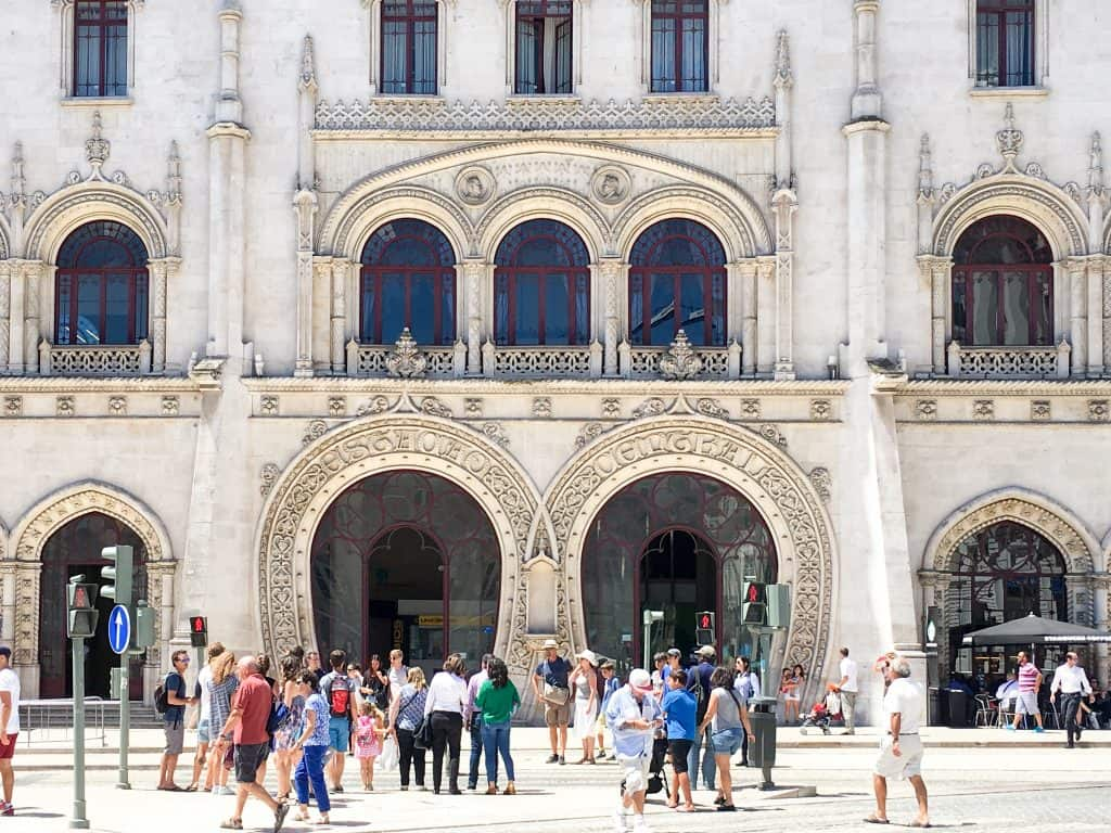Rossio Train Station | The Ultimate Lisbon Bucket List | 101 Things to do in Lisbon, Portugal