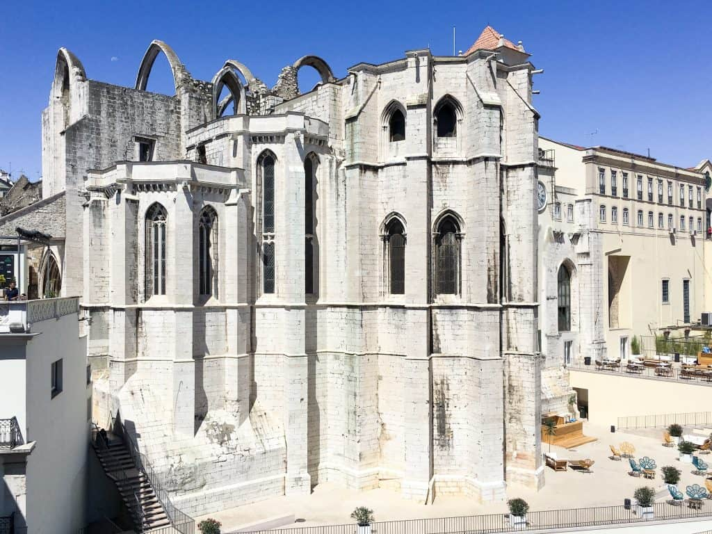 Carmo Convent | 101 Things to do in Lisbon, Portugal | The Ultimate Lisbon Bucket List