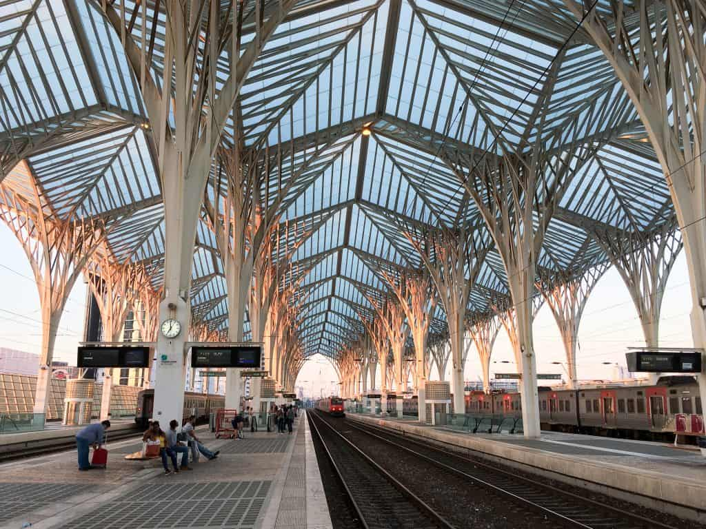 Oriente Station | 101 Things to do in Lisbon, Portugal | The Ultimate Lisbon Bucket List