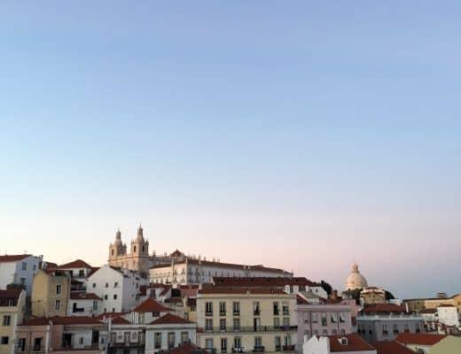 Portas do Sol | 101 Things to do in Lisbon, Portugal | Lisbon Bucket List