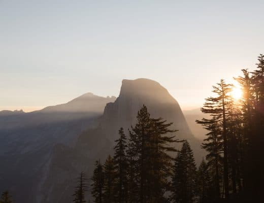 Winter Hiking in Yosemite | Half Dome in Yosemite National Park California