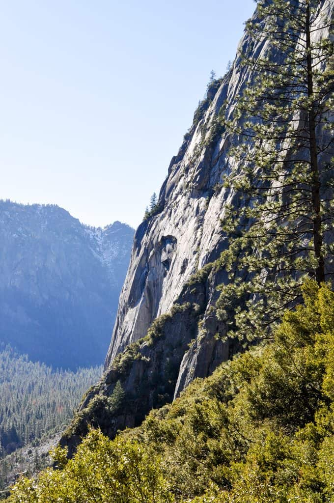 Winter Hiking in Yosemite | Yosemite Falls Trail