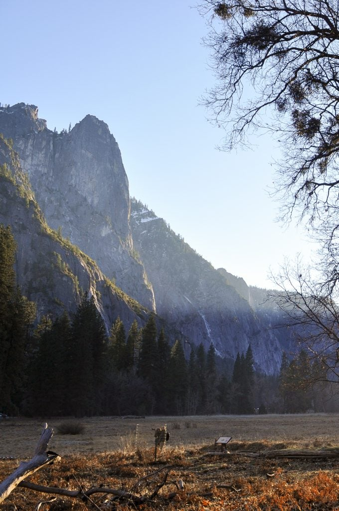 Winter Hiking in Yosemite