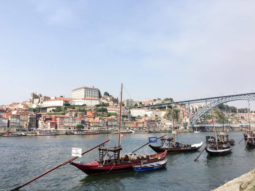 Rabelo boats on the Douro River in Porto, Portugal | Lisbon vs Porto: How to pick the best city for your next trip to Portugal!