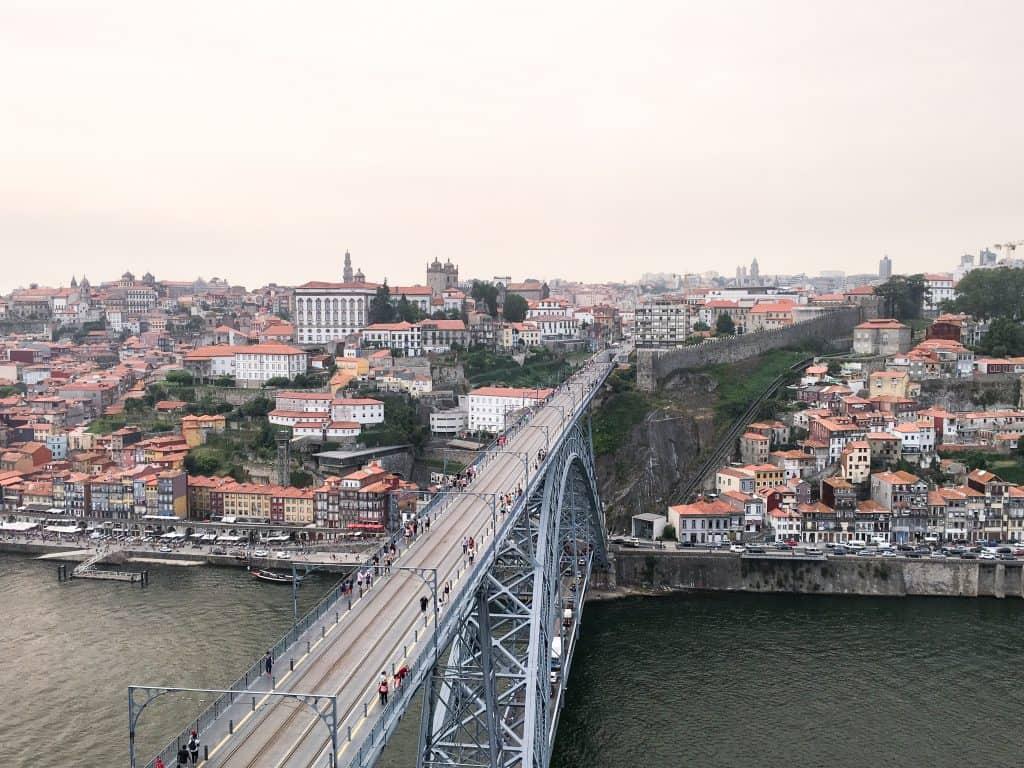 Best Photo Spots in Porto, Portugal | Dom Luis I Bridge