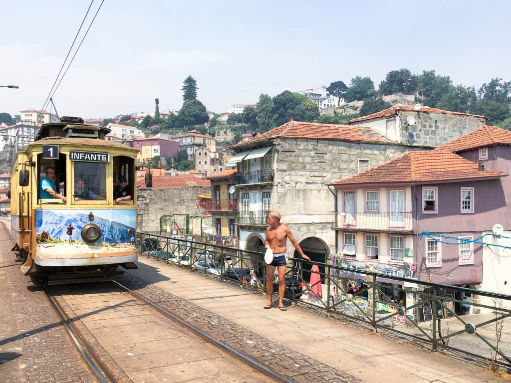Old trams in Porto | Photos of Porto, Portugal