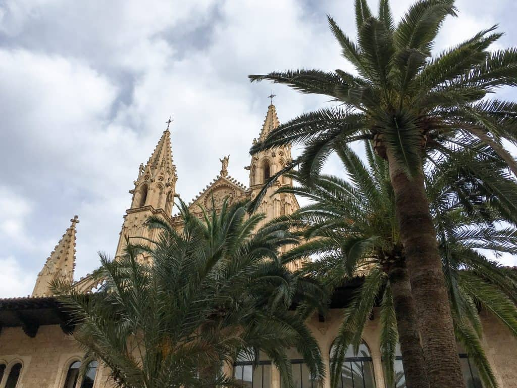 Visiting Mallorca in the Winter   The Cathedral of Santa Maria of Palma commonly known as La Seu