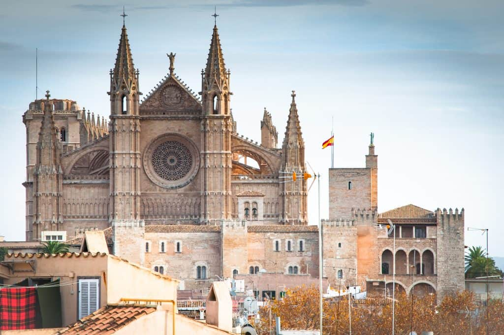 Visiting Mallorca in the Winter | The Cathedral of Santa Maria of Palma commonly known as La Seu | Spain