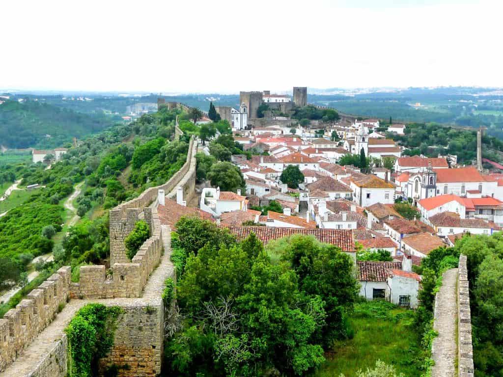 19 лучших мест для посещения в Португалии | Обидуш 19 самых красивых городов и городов для посещения в Португалии 19 Самых Красивых Мест Для Посещения В Португалии 10 Vista geral Castelo O CC 81bidos 1024x768