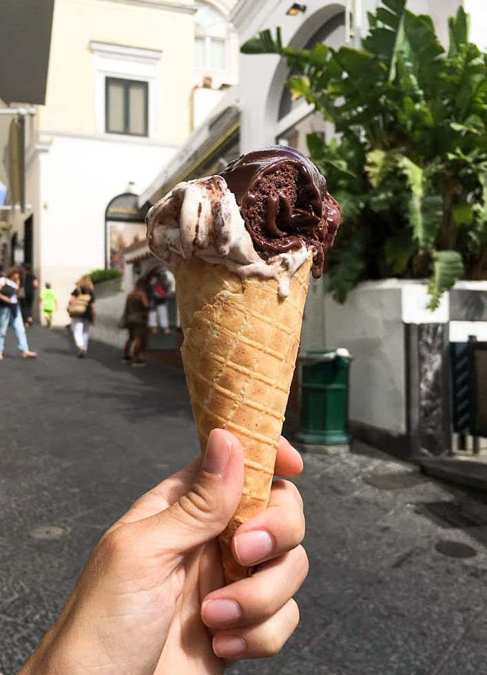 The best gelato in Italy, at Buonocore Gelateria on Capri | Our favorite travel experiences of 2016