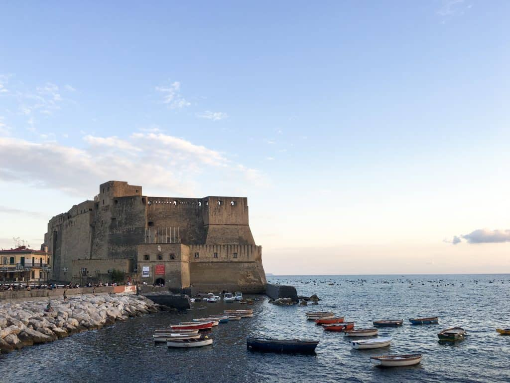 Castel dell'Ovo in Naples, Italy | 14 Reasons to Visit Naples