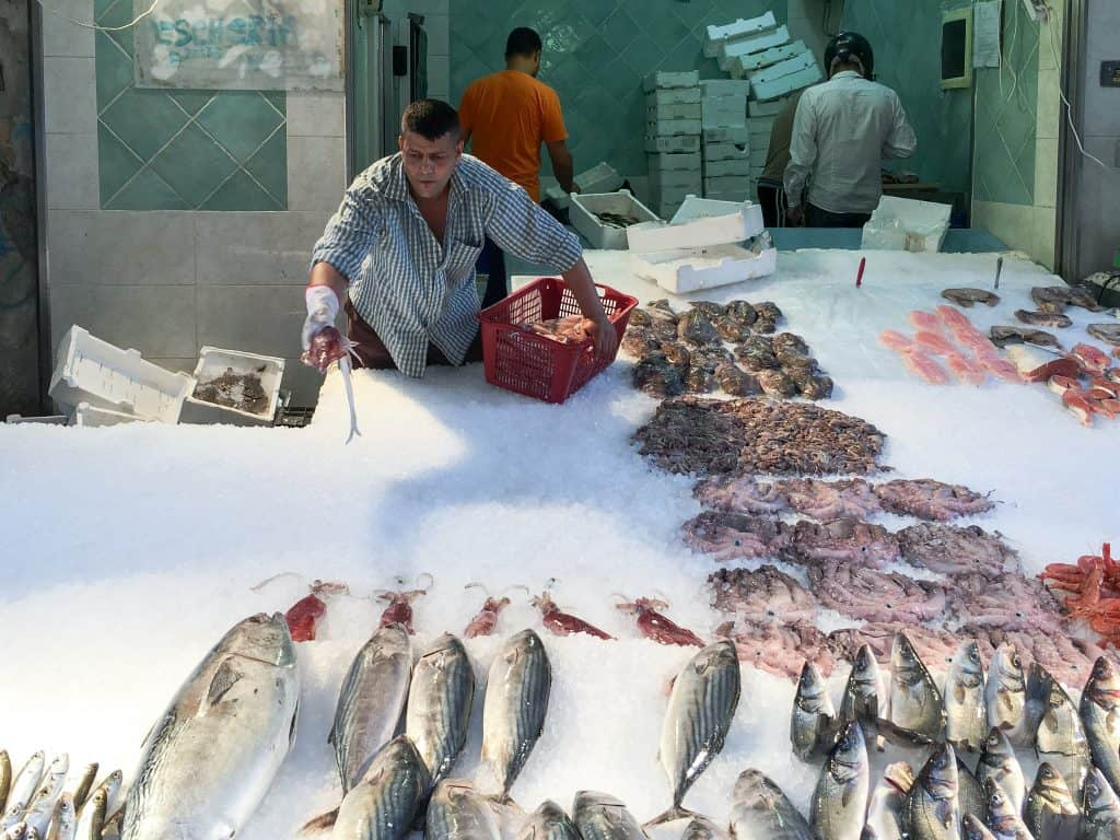 Porta Nolana Fish Market in Naples, Italy | 14 Reasons to Visit Naples
