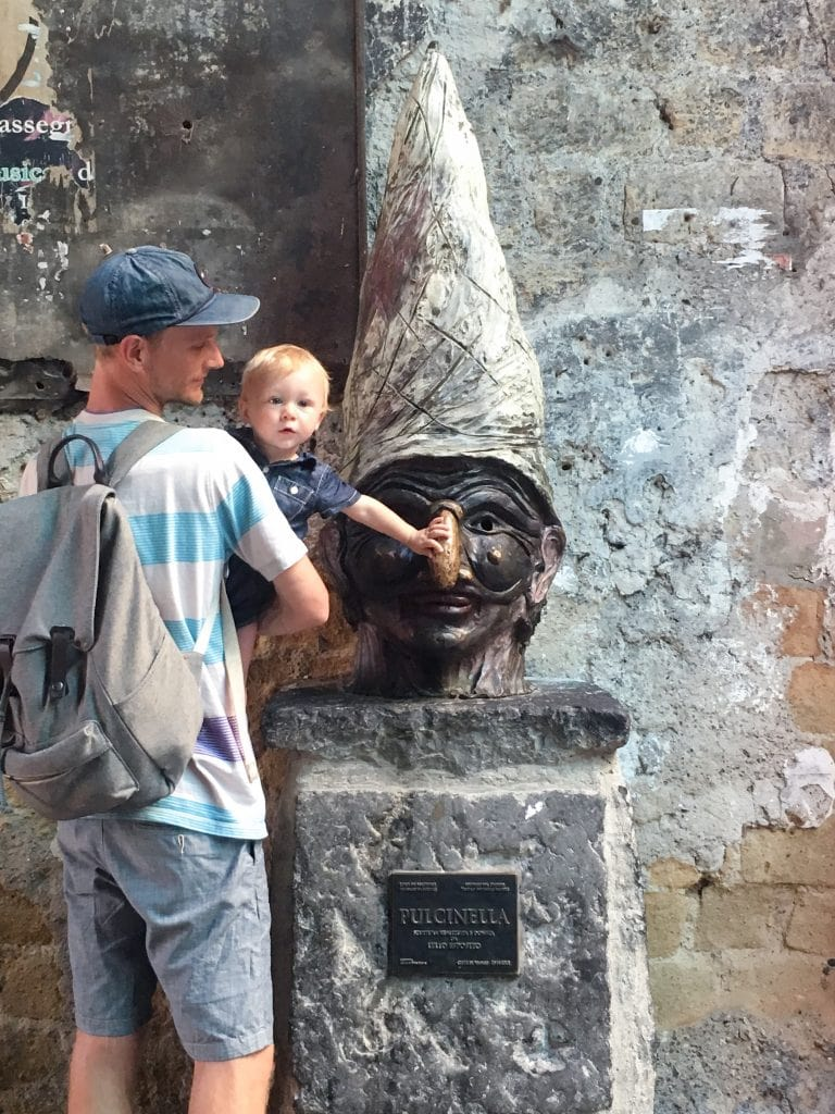 Rubbing Pulcinella's Nose for Good Luck in Naples | Why You Can't Visit Italy and Skip Naples