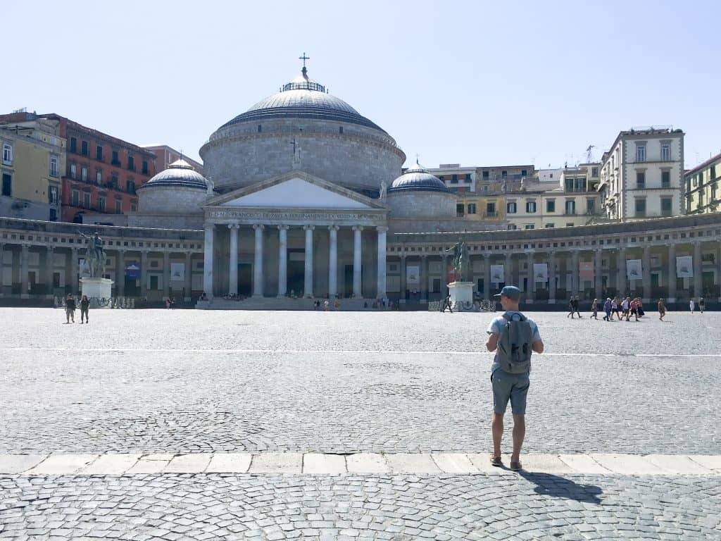 Piazza del Plebiscito in Naples, Italy | Why You Can't Visit Italy and Skip Naples
