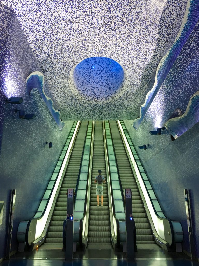 Naples Toledo Metro Station | Why You Can't Visit Italy and Skip Naples