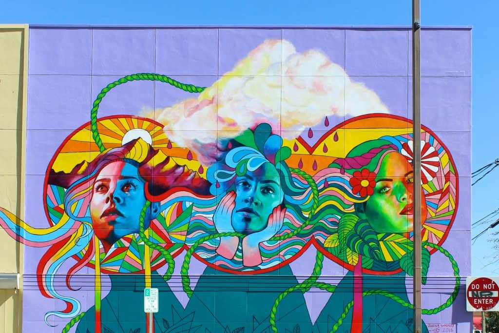A Weekend Getaway to Tucson, Arizona | Where to stay, hike, play and eat in Tucson | Mural by Jessica Gonzalez in downtown Tucson