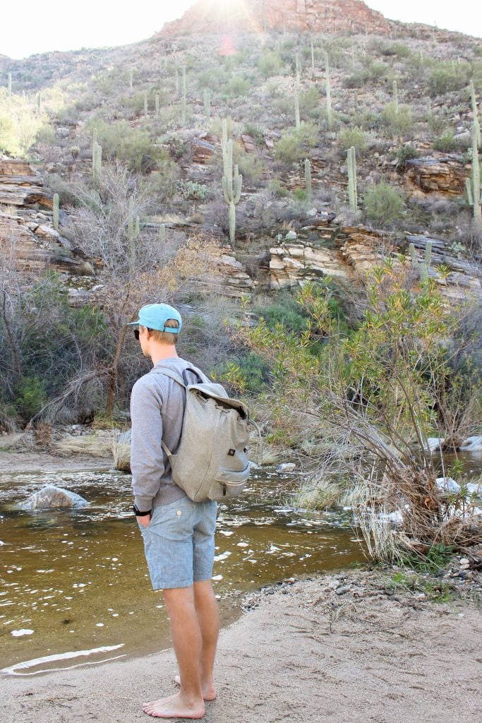 A Weekend Getaway to Tucson, Arizona | Where to stay, hike, play and eat in Tucson | Seven Falls Trail in Sabino Canyon