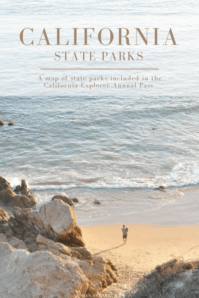 California State Parks Map | A Map to State Parks included in the California Explorer Annual Pass