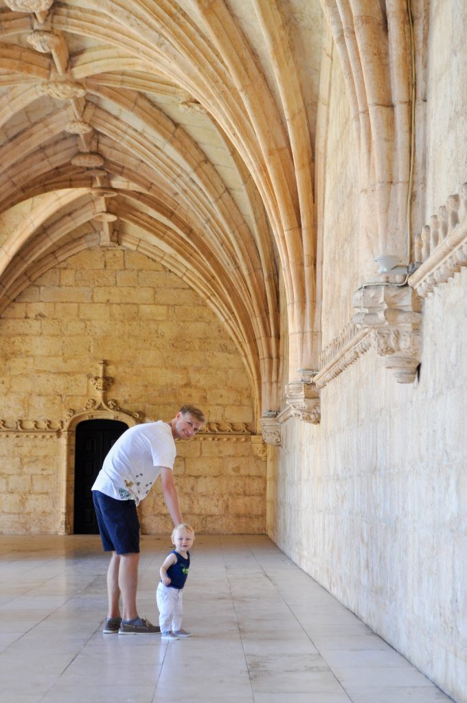 Jeronimos Monastery in Belem, Portugal | Tips for Visiting Lisbon with Kids