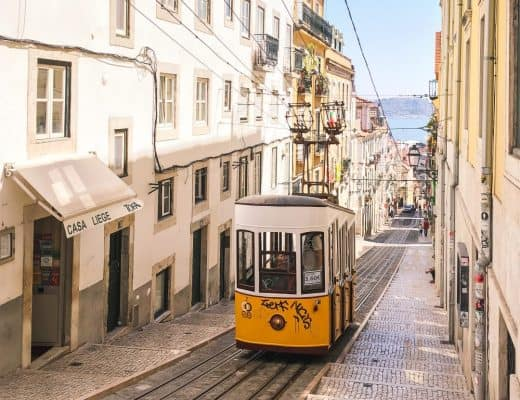 Trams in Lisbon, Portugal | Visiting Lisbon with Kids