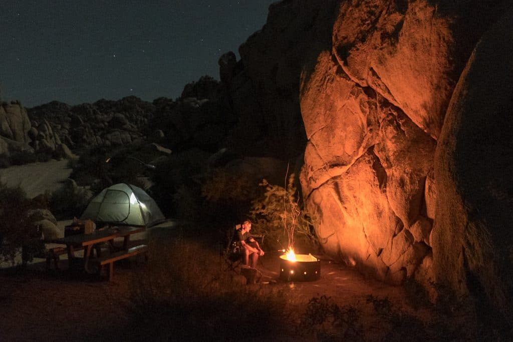 Summer Camping in Joshua Tree National Park, California | Indian Cove Campground