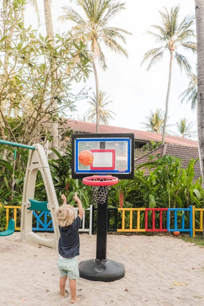 Kids' Area in Sheraton Senggigi Beach Resort in Lombok
