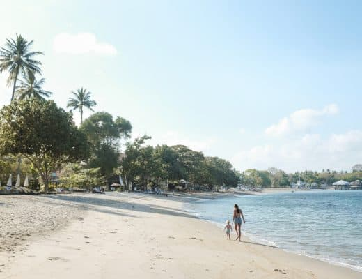 Sheraton Senggigi Beach Resort on Lombok, Indonesia